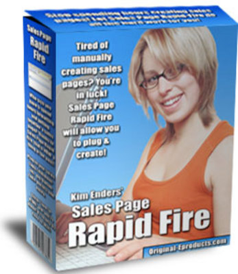 Product picture Sales Page Rapid Fire MRR