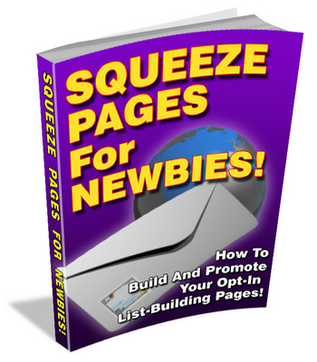 Product picture Squeeze Pages For Newbies (PLR)3