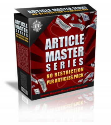 Product picture Article Master Series Vol24 (PLR)