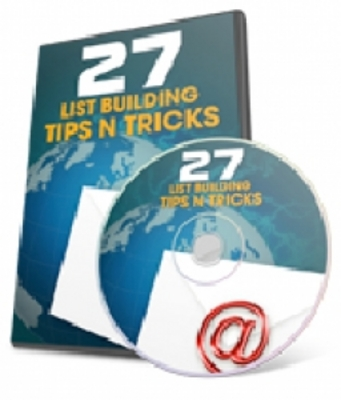 Product picture 27 List Building Tips N Tricks (PLR)